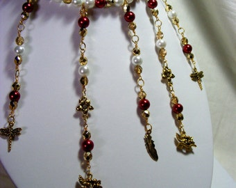 Pearl and Charm Jewellery Set