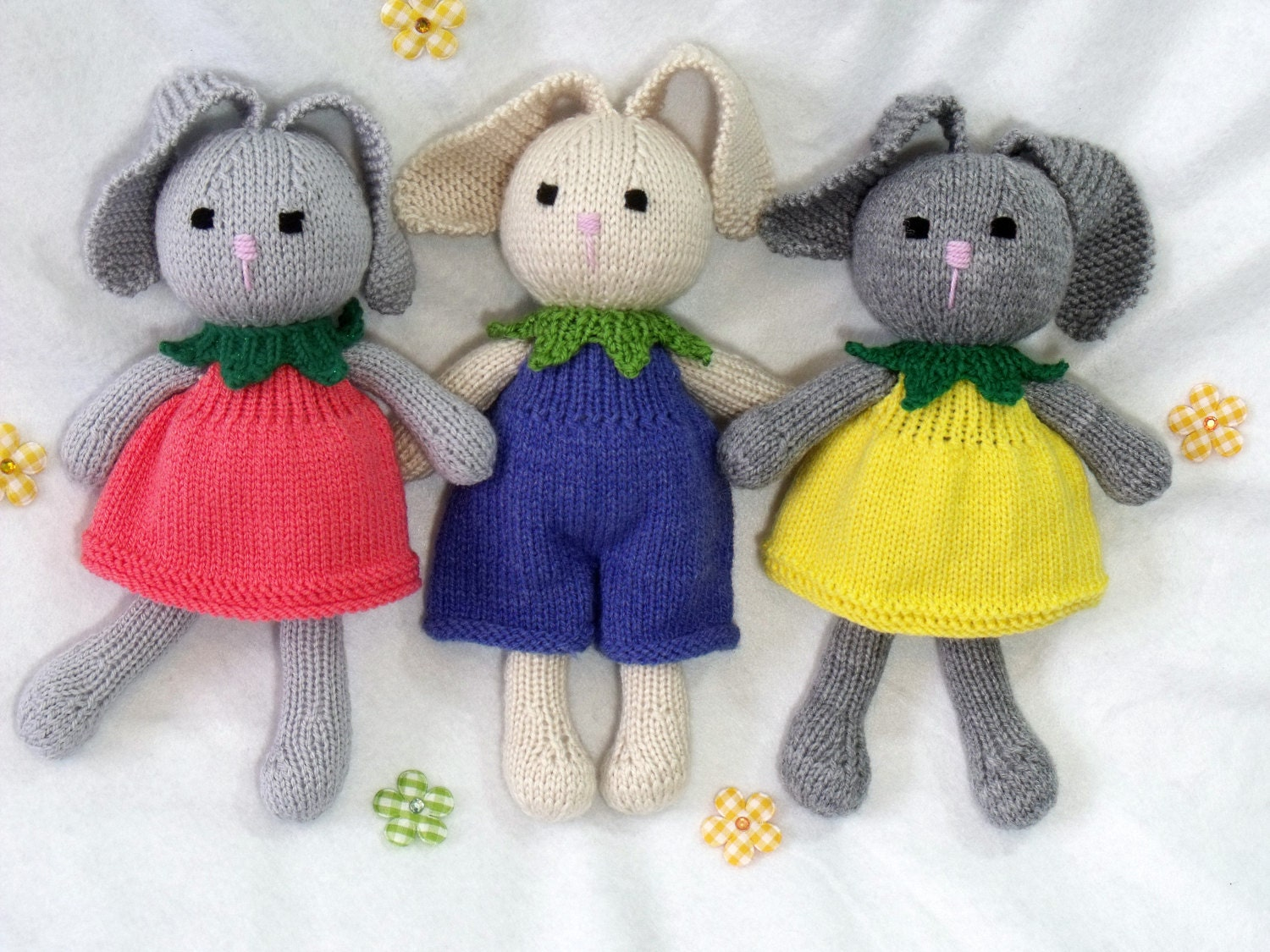 Toy doll bunny knitting pattern cuties flower bunny floppy zoom bankloansurffo Choice Image