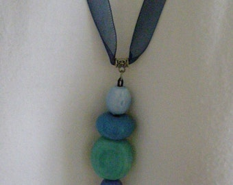 ceramic pendants with tape