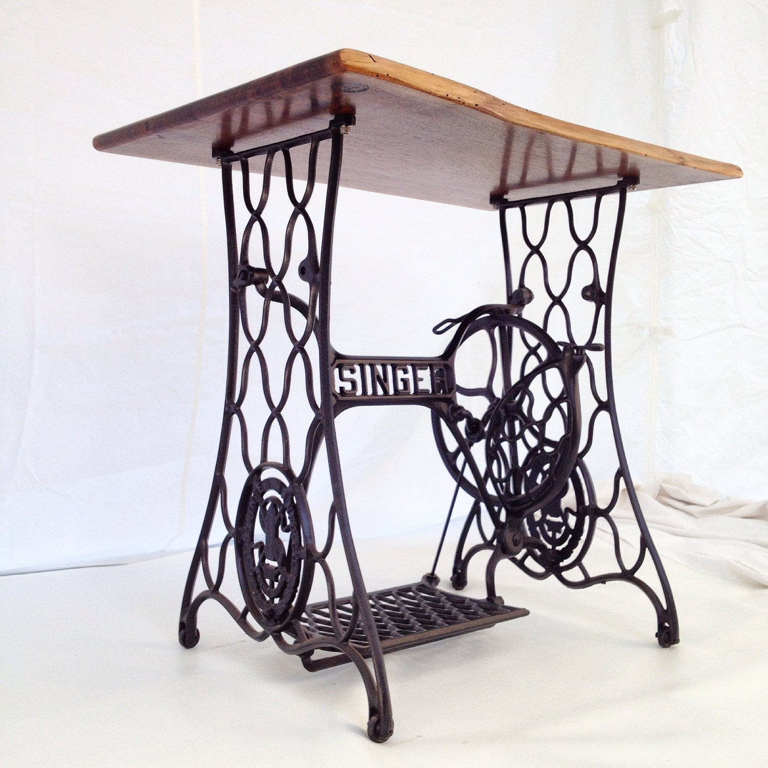 Industrial furniture singer sewing table singer sewing desk - Table machine a coudre singer ...