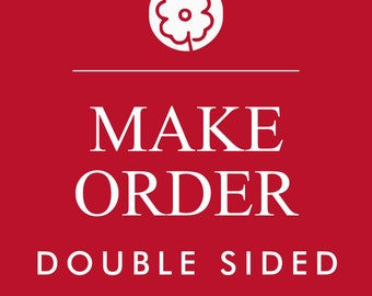 Make your order double sided