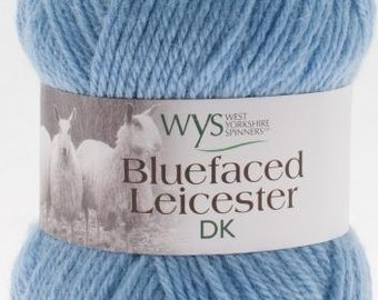 WYS Blue faced leicester wool