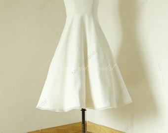 Audrey hepburn style etsy for Hepburn style wedding dress