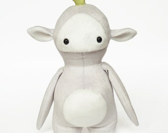 Plush toy seedling - stuffed toy - Monster softie - Plushie - Stuffed monster - Cute handmade plush monster - stuffed toy - plush toy