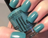 Love Letter to Jacques Cousteau nail polish - ocean blue shimmer fleck holographic