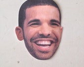 drake's face stickers || set of 3