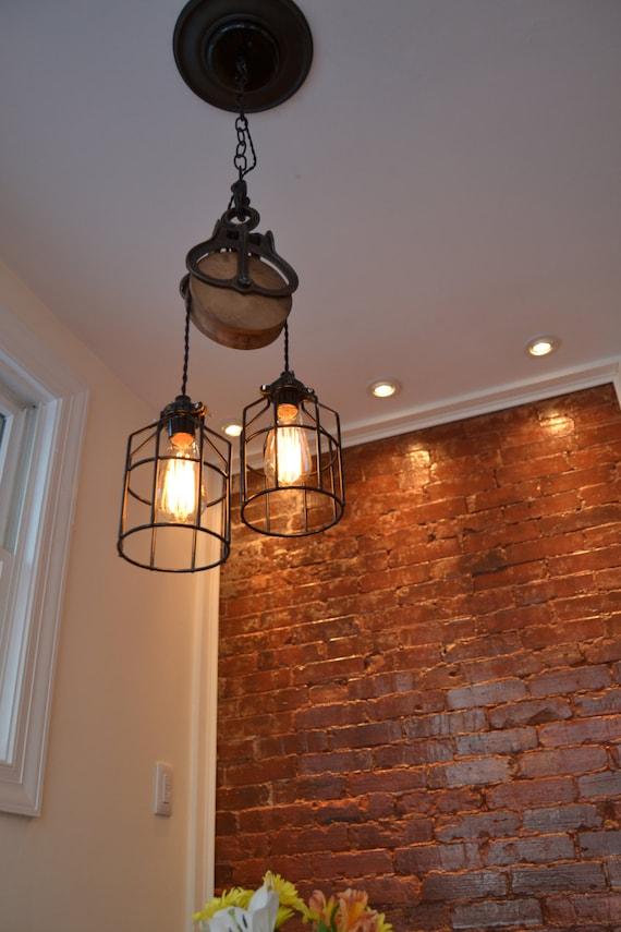 Home Lighting Lighting Barn Pulley Industrial Light