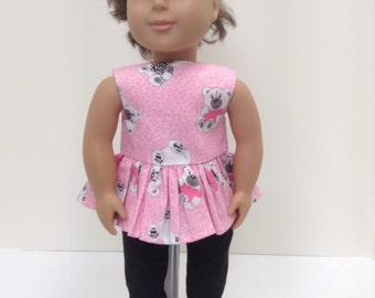 "Teddy Bear Summer Set   - Fits 18"" American Girl Doll and all other 18"" Dolls"
