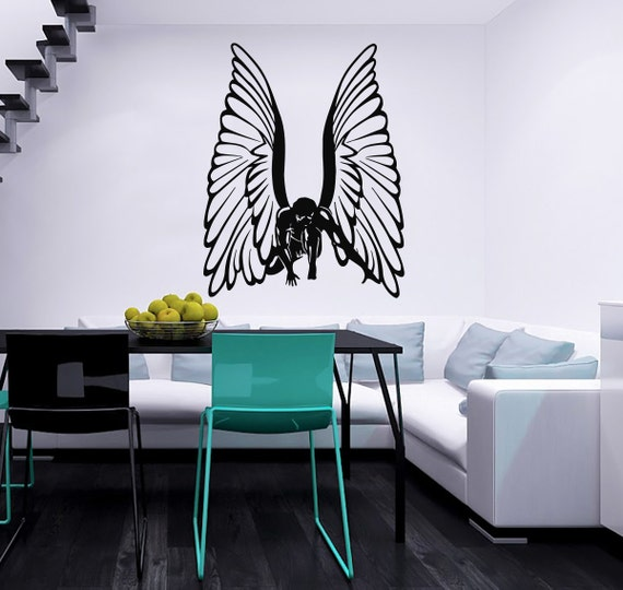Angel Girl Wings Decal Wall Decals Wall Vinyl By