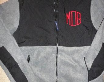 Monogrammed Polar Fleece Jacket