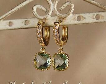 Kate Middleton-Inspired Green Earrings