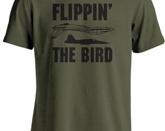 Top Gun - Flippin the Bird Maverick T-shirt