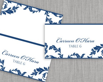 tent cards template word