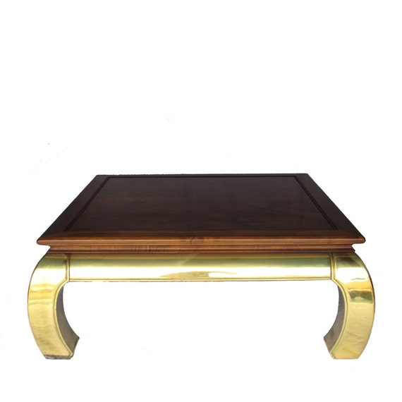 Brass Based Ming Coffee Table By Luxeartifacts On Etsy