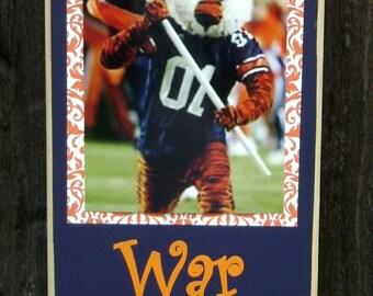 Auburn War Eagle Clip Frame