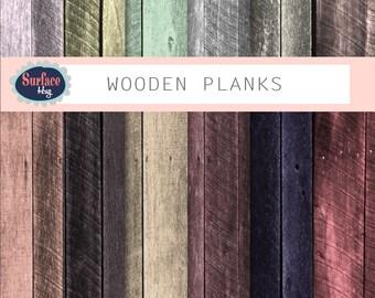 Wood Digital Paper WOODEN PLANKS Wood background, Distressed Wood, Wood grain paper, Natural wood paper,  Rustic paper - Scrapbook paper