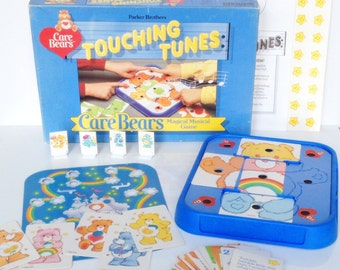 Vintage Care Bears Touching Tunes Game