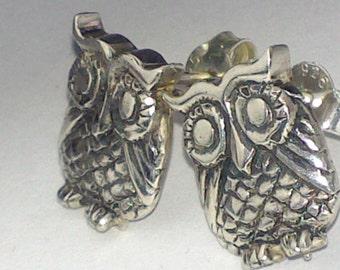little owls earrings.