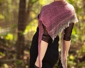Spring fashion Womens shawl Knitted shawl Triangle scarf Hand knit shawl Lightweight shawl Boho shawl Crochet Sale