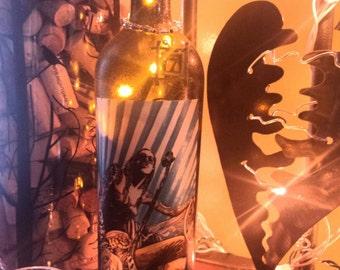 Rockstar Wine Bottle Light