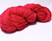 The Fantasy--Lip Rouge--Falkland Merino/Silk 4 ply fingering