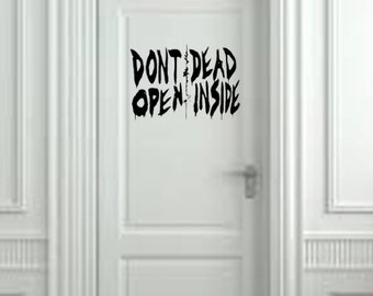 Dead Inside from The Walking Dead Wall Decal