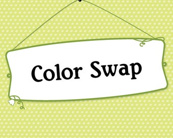 Color Change   Edit for printable items