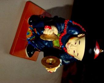 Oriental Asian Chinese Art Figurine Musician