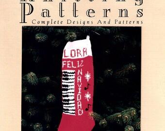 Christmas Stocking Pattern,  Feliz Navidad