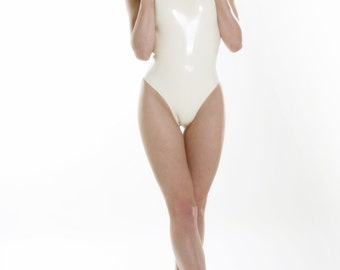 Latex Swimsuit - Leotard - FREE SHIPPING