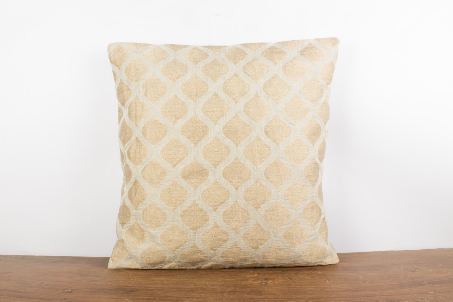 Throw Pillow Euro Sham : Dutch White Euro sham 26x26 Decorative throw Pillow by Fabricasia