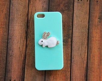 Rabbit iPhone Case Bunny iPhone Case Rabbits Crystal iPhone Cases Animal iPhone 5c Case Rabbit iPhone 5c Bunny iPhone 5c iPhone 7 Plus S5