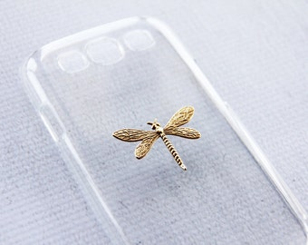 Dragonfly Bugs Case Cool Cases iPhone 6s S4 Unique Dragon Fly iPhone 6 Cell Phone Case Cover Bumper S5 Case Gold