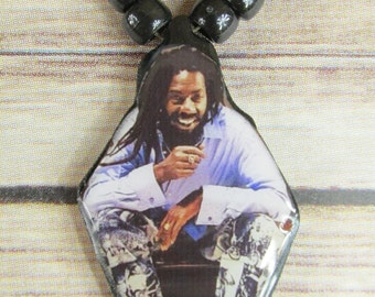 Buju Banton Rasta Necklace/Medallion