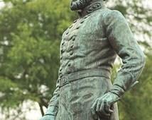 Stonewall Jackson Statue - High Quality Photographic Print
