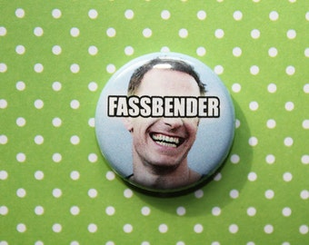 Michael Fassbender- One Inch Pinback Button