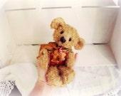 Artist Bear | Vintage Ginger Tin Bear