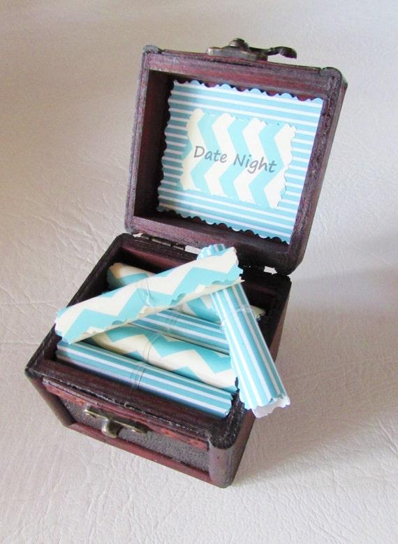 Gift Idea Date Night Scroll Box Fun Dates In By