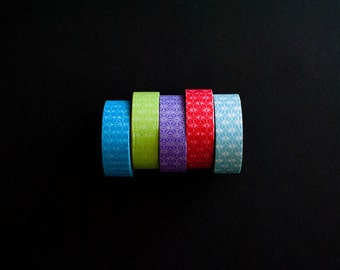 SALE 50% OFF Washi Tape - Flower of Life - You choose the color
