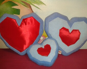 Zelda Ocarina of Time Heart Container / Heart Piece plush