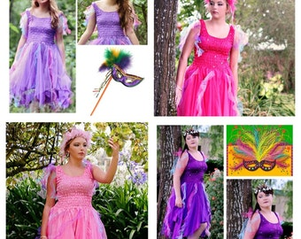 Woman's Fairy Costume ~ Halloween Carnival  Costume ~ Party ~ Mardi Gras ~