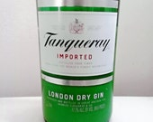 Tanqueray Gin Repurposed Bottle 100% Natural Soy Candle