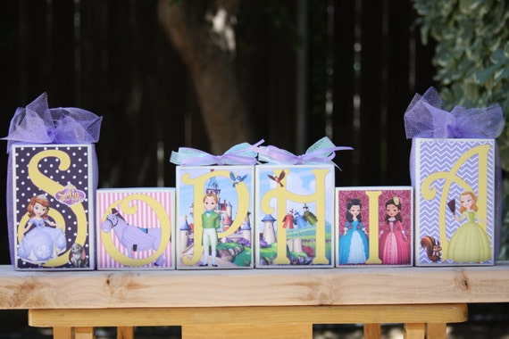 Disney Sofia The First Personalized Name By WhimsicalMarket