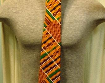 African Kente Necktie