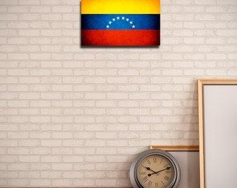 Venezuela Canvas Flag (w/ Free Shipping!)