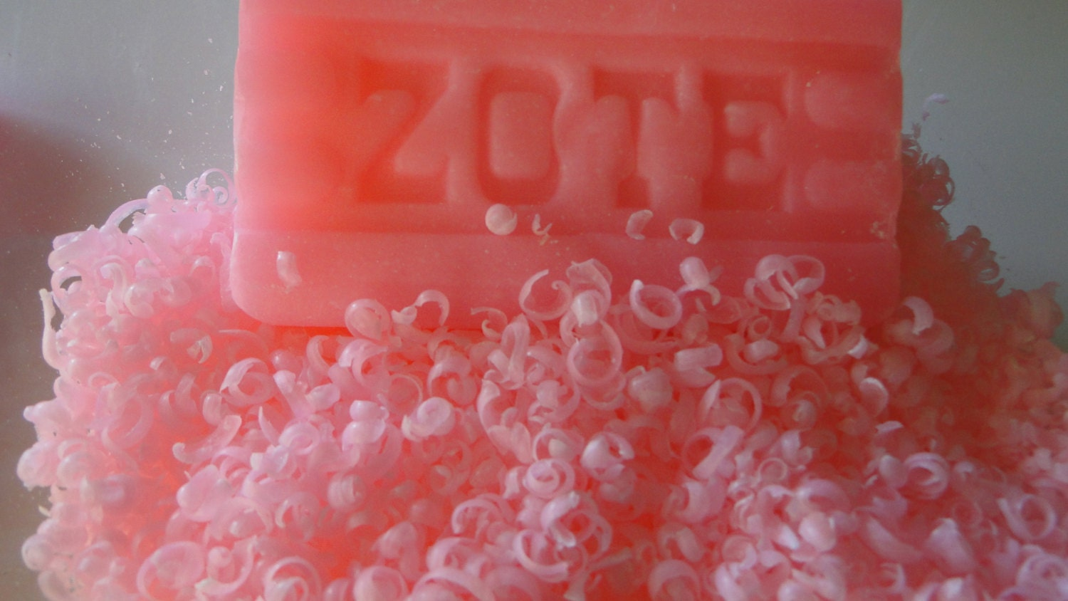 Pink Zote Flakes For Homemade Laundry Detergent And By