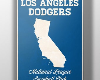 Los Angeles Dodgers Minimalist Print