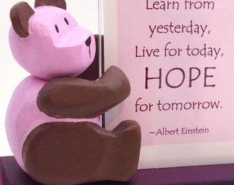 HOPE Bear Photo Holder
