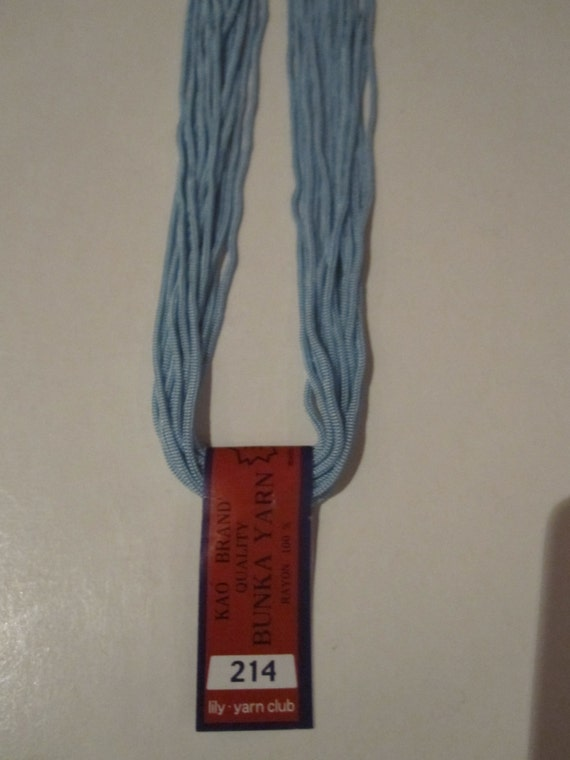 Kao BUNKA Embroidery Thread Yarn Floss Punch Needle Tokyo