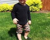 Shorts come in any fabric offered in my shop // gender neutral for babies or toddlers